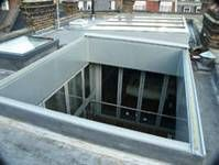Aluminium Glass Slide Open Glass Rooflight