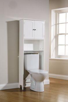 bathroom white etagere cabinet storage unit cupboard toilet seat shelf rack wc in home furniture diy furniture cabinets cupboards