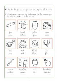 Resultado de imagen de comprensió lectora per cicle inicial Preschool Education, School Resources, Bullet Journal, Activities, Google, Valencia, Cl, Writing, Reading Comprehension