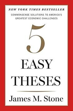 FIVE EASY THESES by James Stone Buy here: http://ift.tt/1qidDeN
