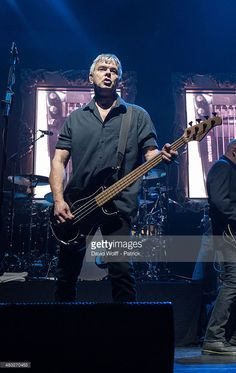Jean Jacques Burnel of The Stranglers performs at L'Olympia on April 7, 2014 in Paris, France.