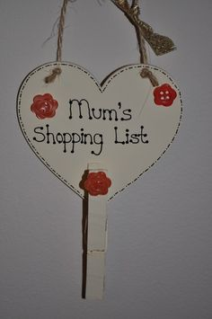 Can be made in any colours, and with any wording Perfect gift for Mothers Day All my items are gift-wrapped and I can include a written note if necessary