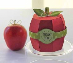 Apple boxes and other teacher gifts.