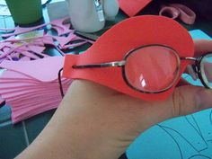 DIY eye patch for children with amblyopia