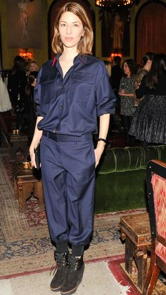Sofia Coppola attends the Sonia Rykiel Cocktail Event in New York.