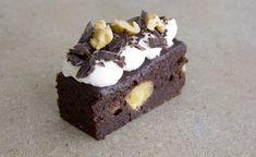 בראוניז שוקולד בננה ואגוזים לפסח - סוגת להכין באהבה