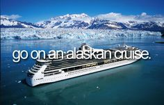 25th anniversary - Go on an alaskan cruise!