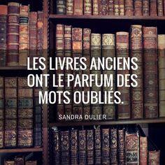 Citation de Sandra Dulier, livres.