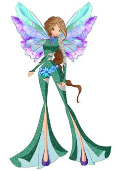 Flora Onirix 2D by Winx-Rainbow-Love.deviantart.com on @DeviantArt