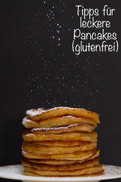 Wie Ihr besonders leckere Pancakes macht? Dafür gibt es heute Tipps (besonders für glutenfreie Pancakes)! Plus ein Rezept natürlich! #pancakes #pancakesrezept #pancakesglutenfrei #glutenfrei #brunch #frühstück #osterbrunch Pancakes, Breakfast, Desserts, Food, Perfect Breakfast, Food Food, Tips, Recipies, Postres