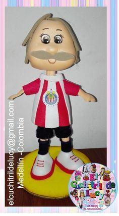 fofucho futbolista personalizado:Chivas Rayadas del Guadalajara