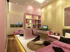 Pink colour theme design