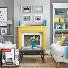 Neutral is nice, but a bit of bright can be even better. Infuse your home décor with bold hues (without spending a bundle)!