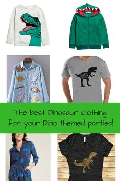 Dinosaur clothing for your dino party! Dinosaur t-shirts Baby and toddler dinosaur prints daddysaurus mommysaurus Dinosaur Birthday Party, Birthday Parties, Dinosaur Outfit, The Good Dinosaur, Plan My Wedding, Spongebob Squarepants, Party Themes, Party Ideas, Childrens Party