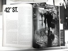 Spread from Show magazine. Designed by Henry Wolf, photos by Robert Frank. 1961 | Flickr - Photo Sharing!