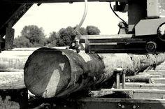 Okrągly bal drewniany Kruca Fuks Firewood, Woodburning