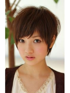 short hair Like this one, too, but I bet my hair is way to thin.