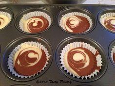 The Tasty Pantry: Cardamom Lemon Chocolate Marble Cupcakes