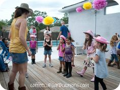 """Cowgirl Party Hoedown! This same site also has some good """"activities"""" ideas."""