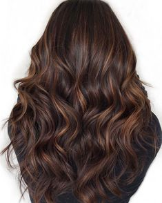 60 Looks with caramel highlights on brown and dark brown hair Best Hairstyles Haircuts Ombre Hair Color For Brunettes brown Caramel Dark hair Haircuts hairstyles highlights