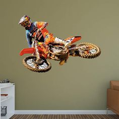 Motocross Fan? Prove It! Put Your Passion On Display With A Giant Ryan  Dungey