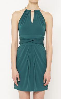 Laundry by Shelli Segal Green Dress