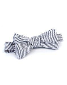 100 Layer Cake Stripes Bow Tie