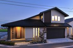 Japan Architecture, Architecture Design, Japanese Modern House, Asian House, Japan Design, Facade House, Pool Houses, House Rooms, Exterior Design
