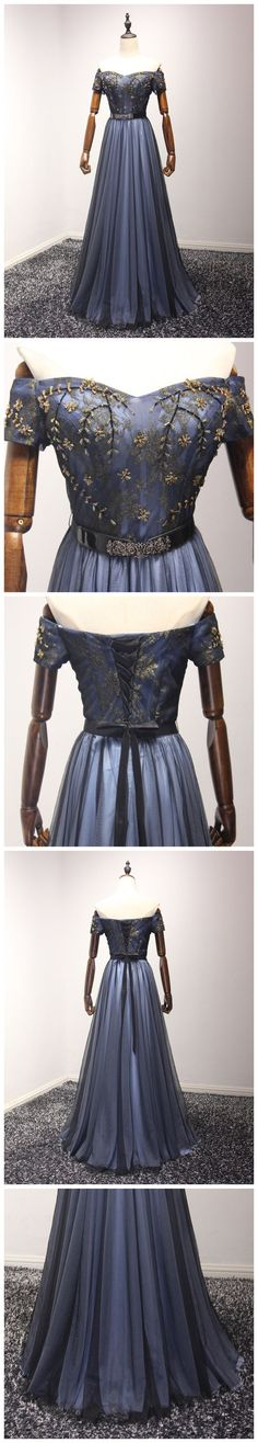 Charming Prom Dress, Long Prom Dresses, off the #fashion#promdress#eveningdress#promgowns#cocktaildress