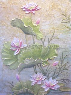 Raindrops and Roses Sculpture Painting, Mural Painting, Texture Painting, Wall Sculptures, Paintings, Clay Wall Art, Ceramic Wall Art, Mural Wall Art, Plaster Crafts