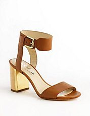 Lexa Leather Sandals | Lord and Taylor