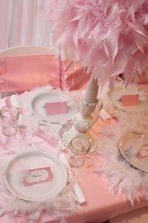 angel themed baby shower. so pretty I love it.