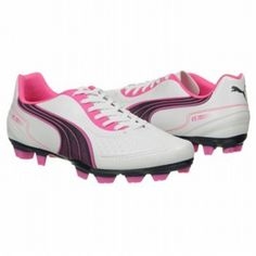 SALE - Puma EC1292459 Soccer Cleats Mens White - Was $50.00. BUY Now - ONLY $45.00
