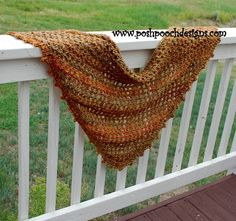 Posh Pooch Designs Dog Clothes: The Everyday Shawl Crochet Pattern w/ Picture Tutorial
