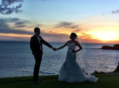The 12th Tee at the Four Seasons Manele Bay. Site fee $15,000. This is where Bill Gates exchanged his vows. It is beautiful. Photo by Allison McDaniel. Our couple Sydney and Rachel took a photo here after their wedding ceremony at the Tee Pad.  #FourSeasonsManeleBay #12thTee #LanaiWeddings #ManeleBay #Golf #weddingsonlanai #lanaiweddingplanner #hawaiiweddingsbytorirogers #HawaiianIslandWeddingPlanners #weddingphotos #Atlanta