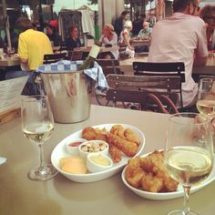 Hotel New York Rotterdam #terrace #wine Photo: @louisearvp