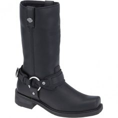 93315 Harley Davidson Men's Westmore Motorcycle Boots - Black www.bootbay.com