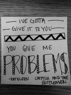 Catfish and the Bottlemen Kathleen lyrics