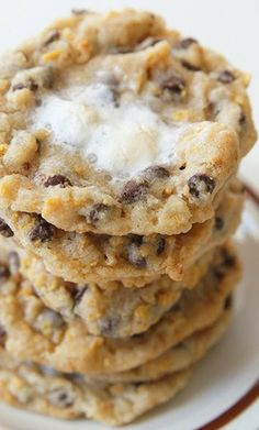 Momofuku Milk Bar Cornflake Marshmallow Chocolate Chip Cookies