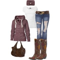 love the hoodie. probably wouldn't wear the boots though! not really my style. kinda depends on my mood I guess :)