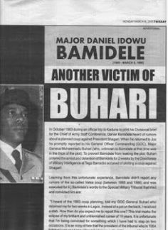 It's Busayolayemi's Blog.. : APC Fires PDP Over ThisDay Advert