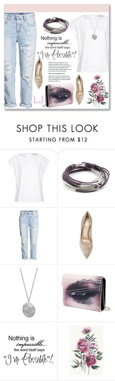 """LIZZYJAMES.COM 8/I"" by amra-mak ❤ liked on Polyvore featuring Hahn, Lizzy James, H&M, Gianvito Rossi, Karen Kane, Jimmy Choo and lizzyjames"