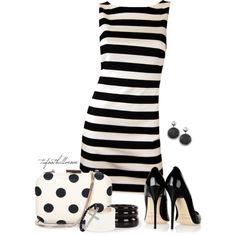 Stripes and Spots - Polyvore