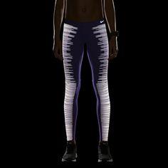 Nike Flash Women's Running Tights-- I definitely need these running during daylight savings time
