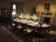StoneGable: Winterthur's Dining Room