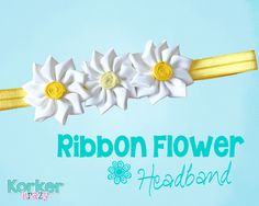 How to Make Your Own Daisy Flower Headband