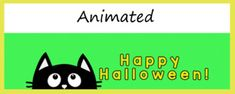 Animated Google Classroom Headers (Happy Halloween!) for Distance Learning Online Classroom, Classroom Decor, Free Education, Google Classroom, Teacher Newsletter, Headers, Happy Halloween, Distance, Animation
