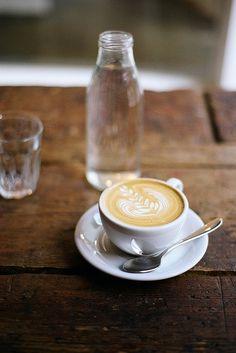 coffee/latte water bottle