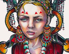 """Check out new work on my @Behance portfolio: """"Gypsy Tears"""" http://be.net/gallery/47449973/Gypsy-Tears"""