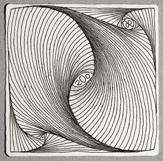 Zentangle: 200 ! By Rick Roberts.